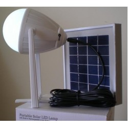 Portable Solar Light for Camping includes solar panel