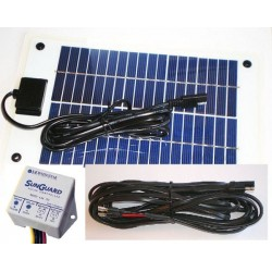 10 Watt Solar Battery Charger Package
