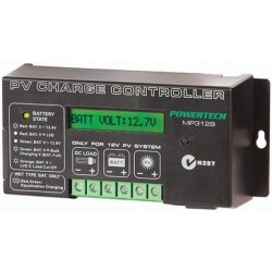Powertech Solar Regulator with LCD Display 20 amp