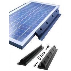 Solar Panel Long Side Mounting pads