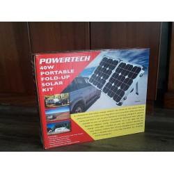 POWERTECH 40 Watt Portable Solar Kit