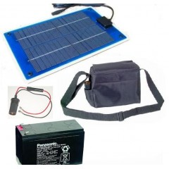 5 Watt Portable Solar Power Kit