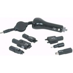 Retractable Mobile Phone Car Charger kit