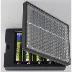 AA Battery Solar Charger